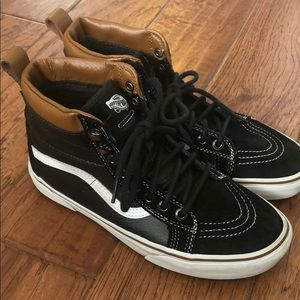 Vans leather/suede hiking boots